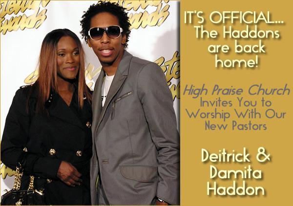 Deitrick Haddon And Wife And Kids Deitrick haddon becomes pastor
