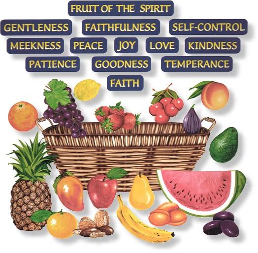 Fruit of the spirit bible study for children