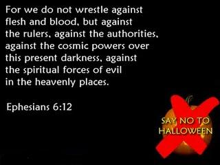 no trick no treat week what does the bible say about halloween