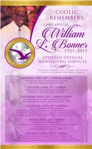bishop bonner updated